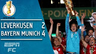 Robert Lewandowski & Bayern Munich Dominate Leverkusen In The Final   German Cup Highlights