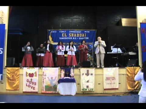 El Shaddai Vancouver Chapter Gospel Choir (Feb 24, 2013)