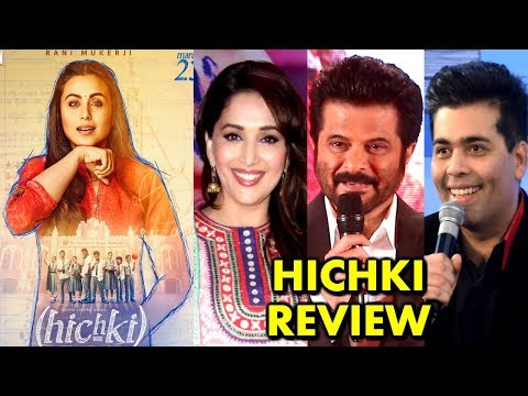 Rani Mukerji's HICHKI Movie Review By...