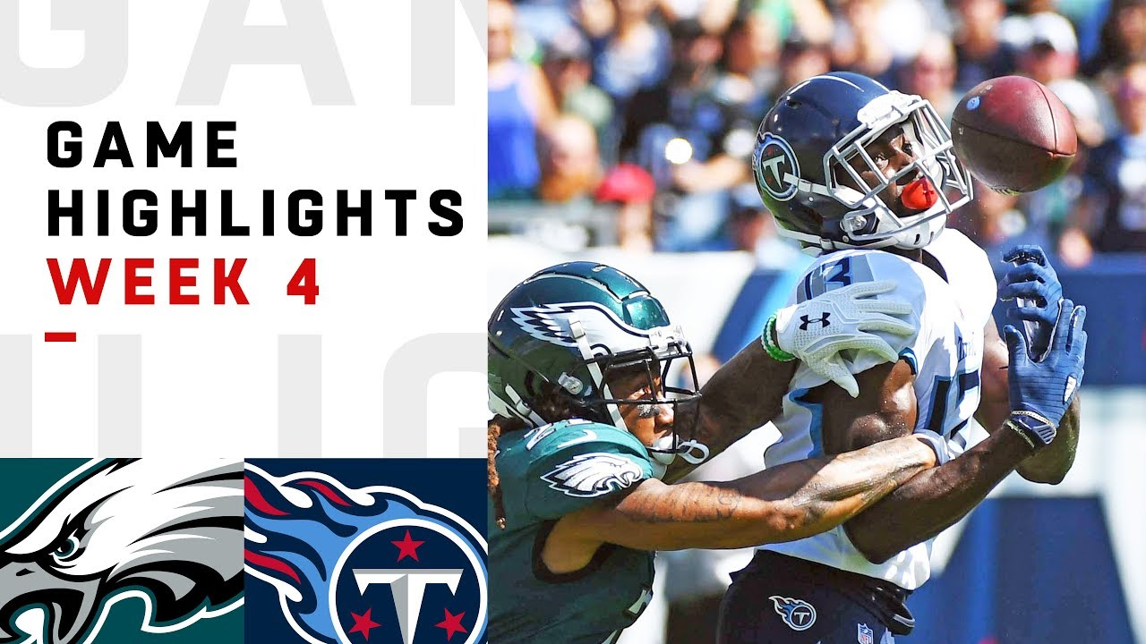 Six Things to Watch in Titans vs Eagles on Thursday Night