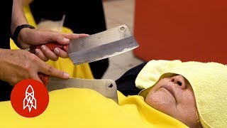 Massaging With Knives