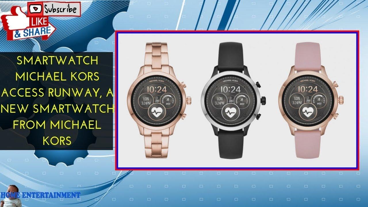 Smartwatch Michael Kors Access Runway A New Smartwatch From Michael Kors