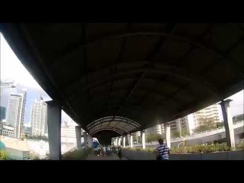 TRAVELLING AS IT IS! View from EDSA-Ayala footbridge, MAKATI CITY