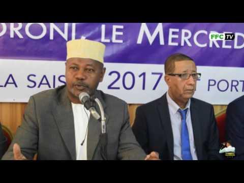 Assemblée Générale de FFC au retaj 2016 OMAR MGOMRI DG Comores Telecom