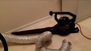 Clean out your Clothes Dryer Vent - How To DIY