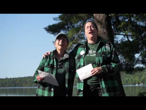 00050 First Seeds of Peace Camp song with Leslie and Bobbie