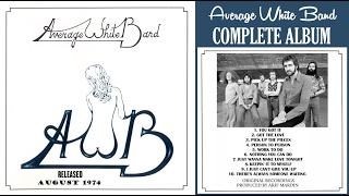 AWB is the second studio album by the Scottish funk and soul band A...