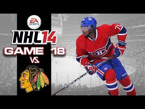 Lets Play NHL 14 - Game 18 vs Chicago Blackhawks