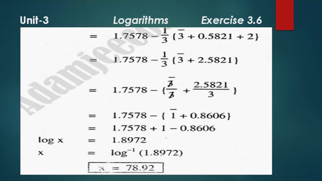 Exercise 3 6 Karachi Board Matric Math || Exercise 3 6 Questions with  complete Solutions