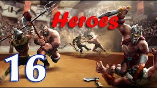 Gladiator Heroes - Strategy and Fighting Game   Walkthrough Gameplay Android screenshot 1