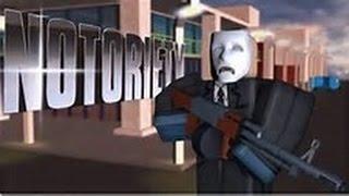 Roblox Notoriety Letsplay #1 Robbing the Mall!