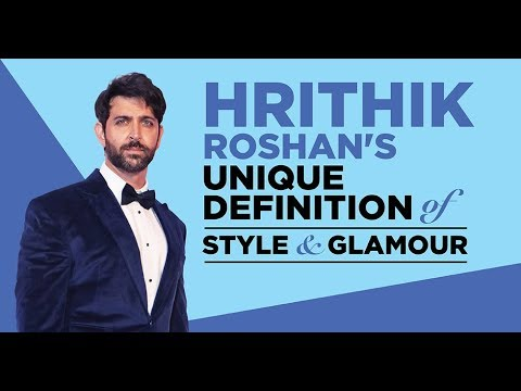 Hrithik Roshan's unique perspective on glamour & style