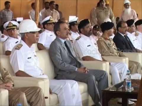 Steel cutting ceremony of Fast Attack Craft (missile) No.2 at KSEW