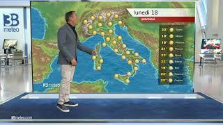 Previsioni meteo Video per lunedì, 18 ottobre