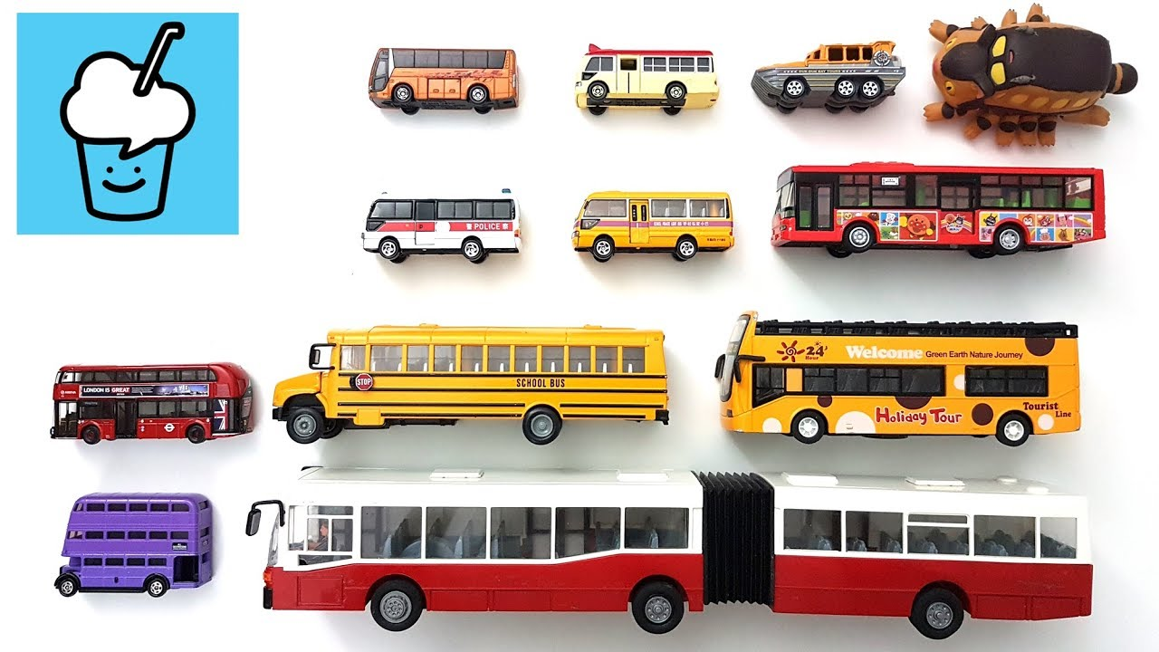 Download Different Bus Types Reviews with tomica トミカ siku