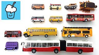 Different Bus for children kids and more with tomica トミカ siku