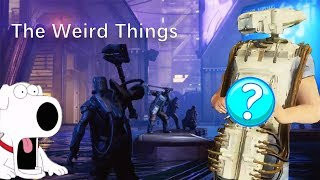 Warframe - The Weird Things in Fortuna
