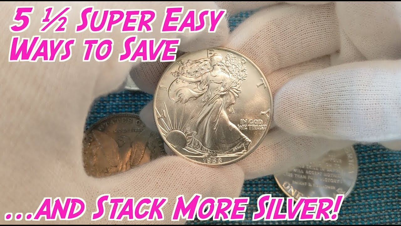 5 ½ Ways to Save Money to Buy Silver this Summer! 1
