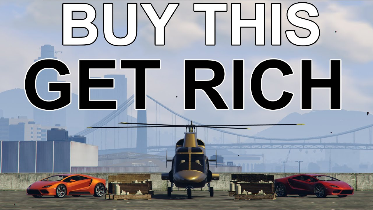 What You Need to Buy in GTA 5 Online to Make TONS of Money!! (Buy This and Get Rich Quick)
