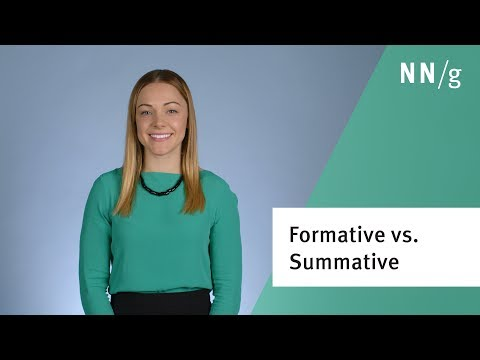 Formative vs. Summative Usability Evaluation