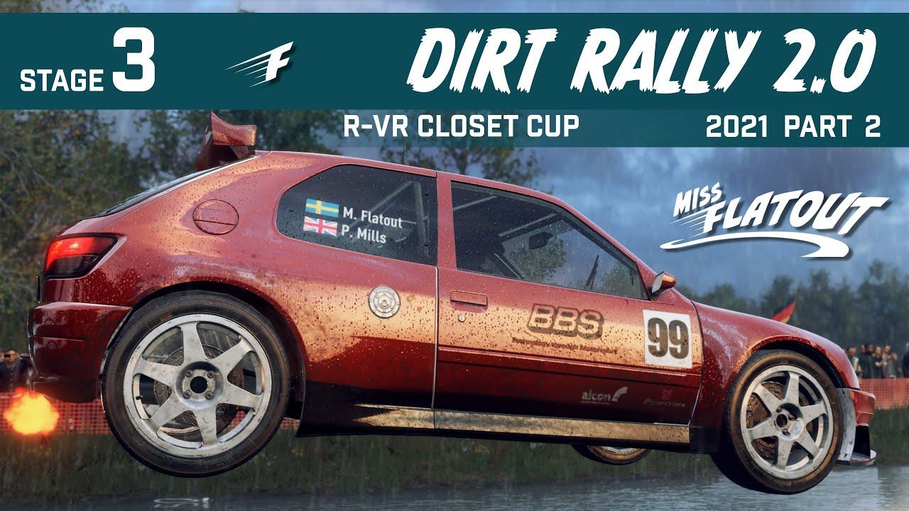 Women in sim racing Miss Flatout Dirt Rally 2.0