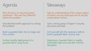 Securing virtual workloads in less than 60 minutes: A live guarded fabric deployment   BRK3309
