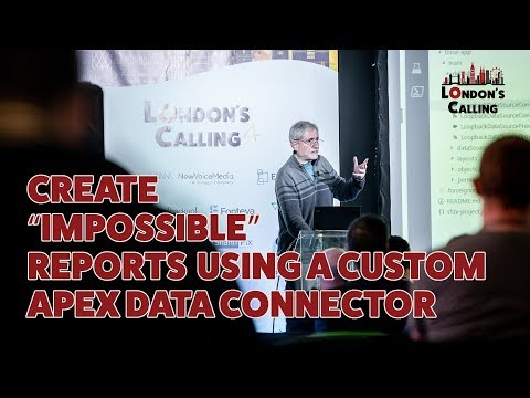 "Create ""Impossible"" Reports Using a Custom Apex Data"