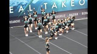 Cheer Extreme Roanoke Emeralds J3 Showcase 2017