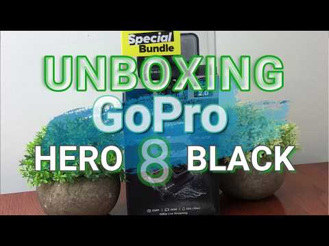 Unboxing New GoPro HERO 8 Black Waterproof Action Camera