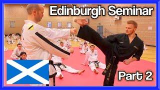 Edinburgh Taekwondo Seminar Part 2 (Ginger Ninja Trickster)