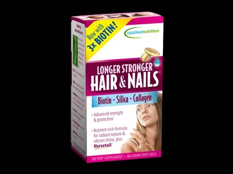 Applied Nutrition Longer Stronger Hair Nails Review