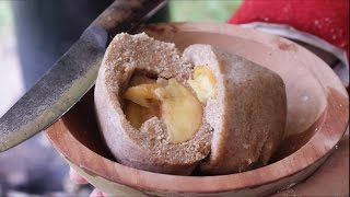 Delicious Boiled Apple Pudding!
