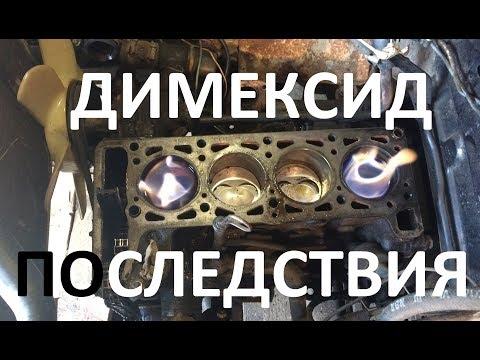 Разбор мотора после димексида. Раскокосовка изнутри. Состояние.