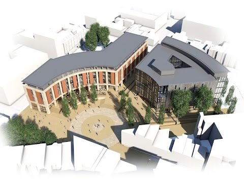 Plans Unveiled for Redevelopment of Leicester's New Walk Centre Site