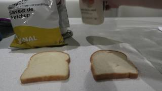 MAKING A DELICIOUS HAM SANDWICH WITH KETCHUP CHIPS