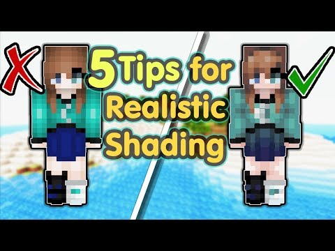 5 Tips For Realistic Shading | Minecraft Skin
