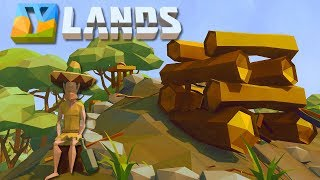 Ylands - TOTALLY Accurate SURVIVAL SIMULATOR! - Ep. 1 -  Y land Gameplay