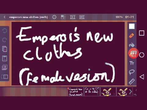 Emperors new clothes (fnaf flipaclip)