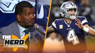 Rob Parker calls Dak Prescott a 'backup' NFL QB and does an NBA All-Star mock draft | THE HERD