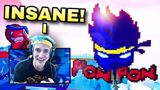 NINJA reacted to my Fortnite creative map live on Twitch and posted it on Twitter😳