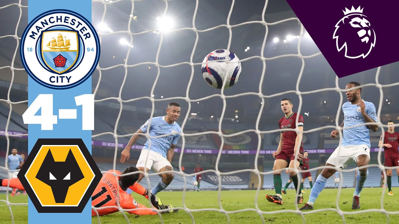 Download HIGHLIGHTS | City 4-1 Wolves | THE UNBEATEN RUN GOES ON
