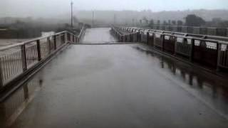 innondation pont aourir taghazout