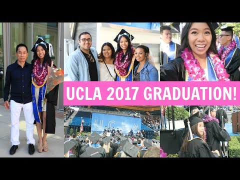 Vlogging On Stage During My Graduation!! UCLA 2017 Political Science!