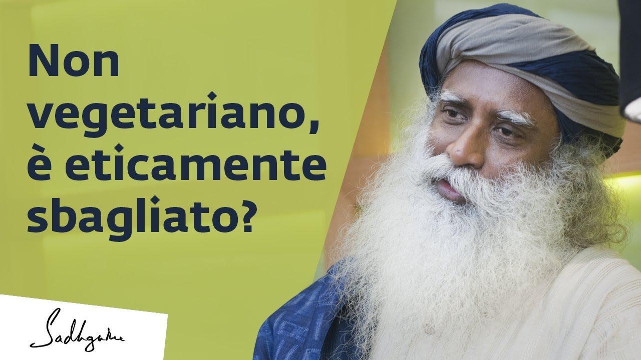 Mangiare non vegetariano è eticamente sbagliato? | Sadhguru Italiano