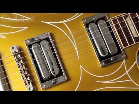 Gibson Custom Billy F. Gibbons Goldtop with Cream T Mash pickups demo