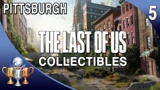 The Last Of Us Collectibles - Chapter 5 - Pittsburgh [Artifacts, Comics, Manuals, Pendants]
