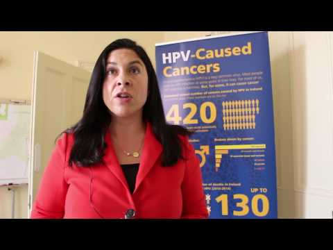 Tanya Ward, Children's Rights Alliance, speaking about the HPV Vaccination Alliance