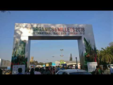 Organic & Millets 2018 - International Trade Fair