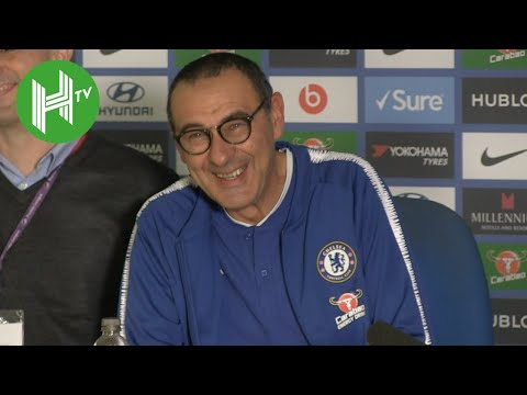 Chelsea 3-1 Crystal Palace | Maurizio Sarri: Alvaro Morata is mentally fragile - but playing well!