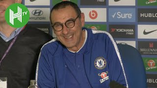 Chelsea 3-1 Crystal Palace | Maurizio Sarri: Alvaro Morata is mentally fragile - but playing well!
